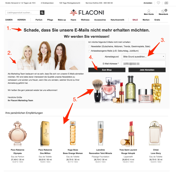flaconi-unsubcribe-landing-notes